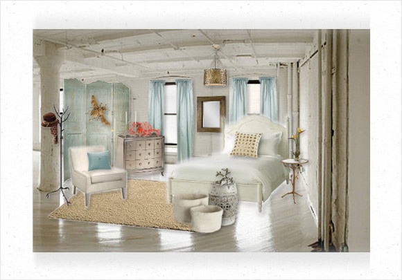 first place goes to shantamichelle for her beautiful coastal cottage bedroom design her comfortable soft and soothing bedroom is the perfect place to